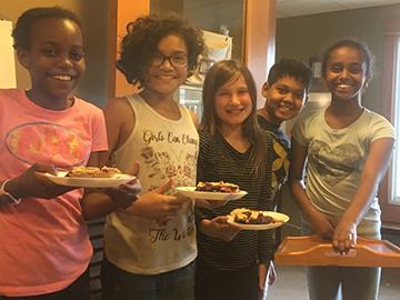 Upper Elementary bakers