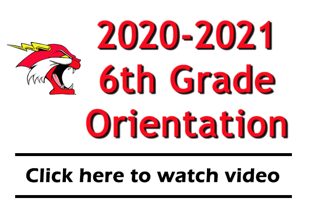 2020-2021 6th grade orientation image