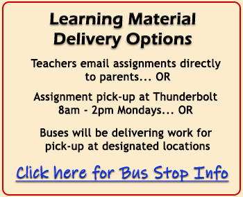 Learning Material Delivery Options info