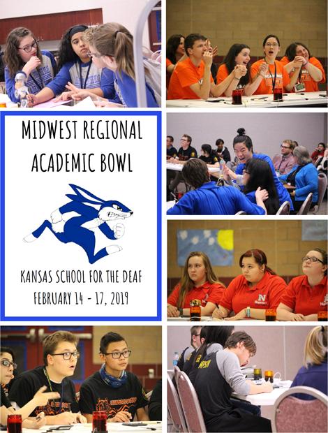 Midwest Regional Academic Bowl - KSD - February 14-17, 2019