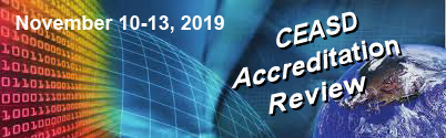 CEASD Accreditation Review November 10-13, 2019