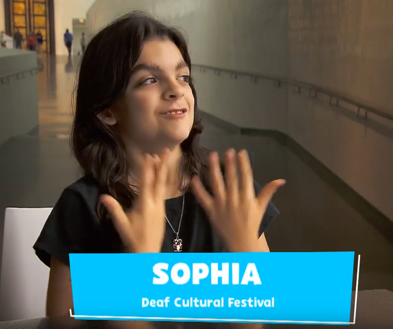 Sophia interview about A Horse Goes to Summer Camp