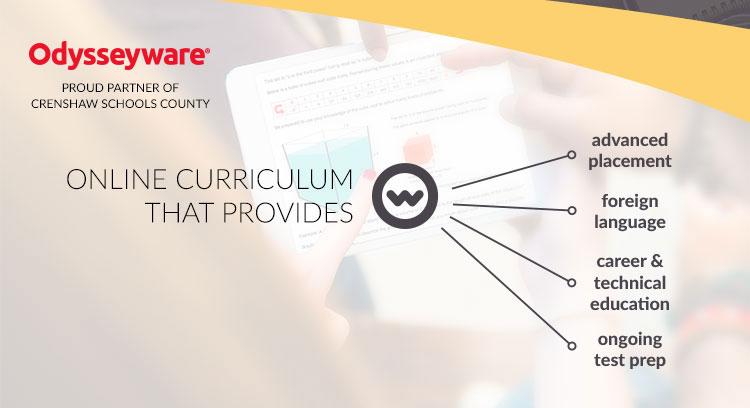 Odysseyware, online curriculum