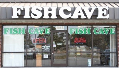 PICTURE OF FISHCAVE STOREFRONT