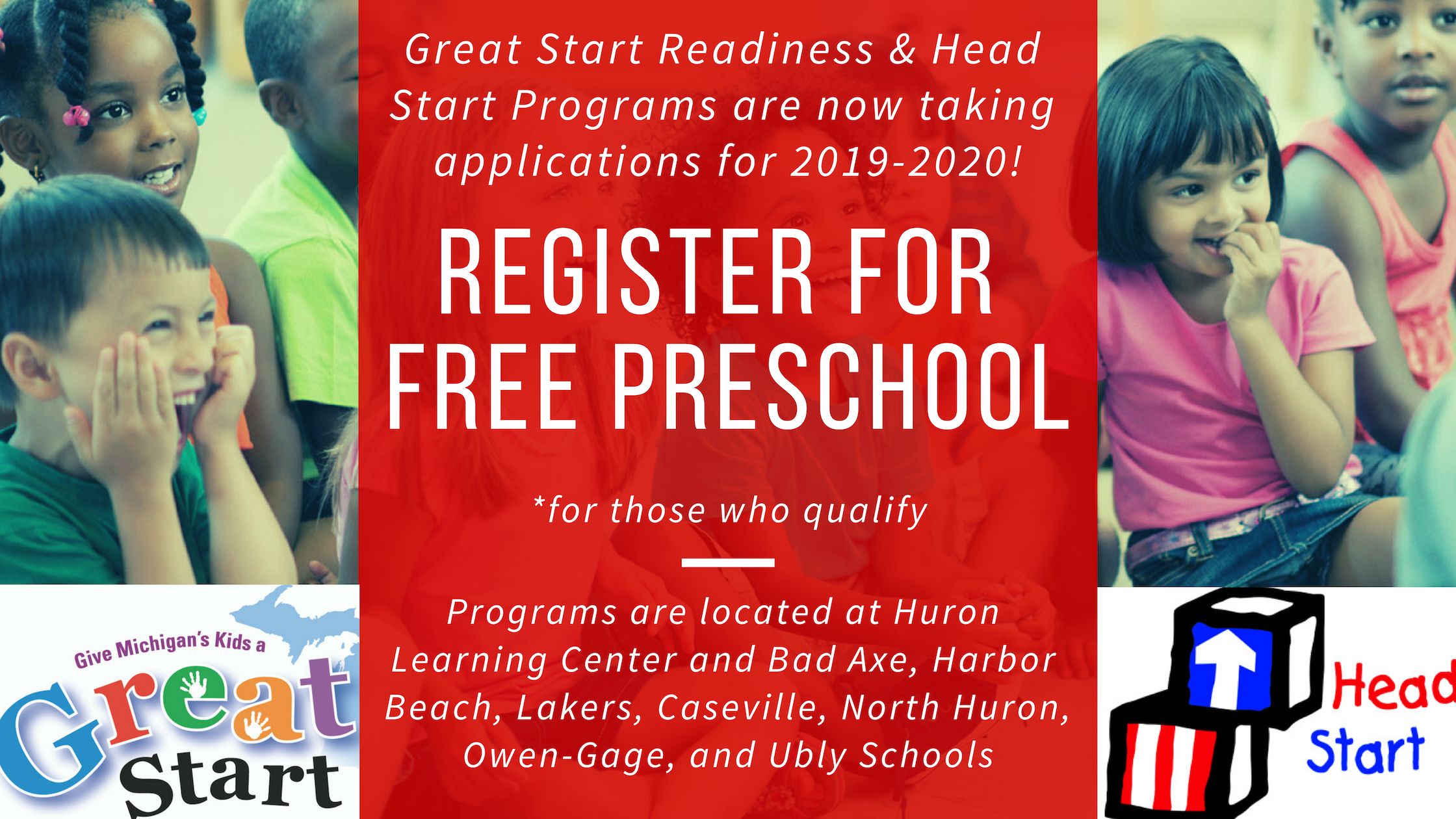 Register for free Preschool