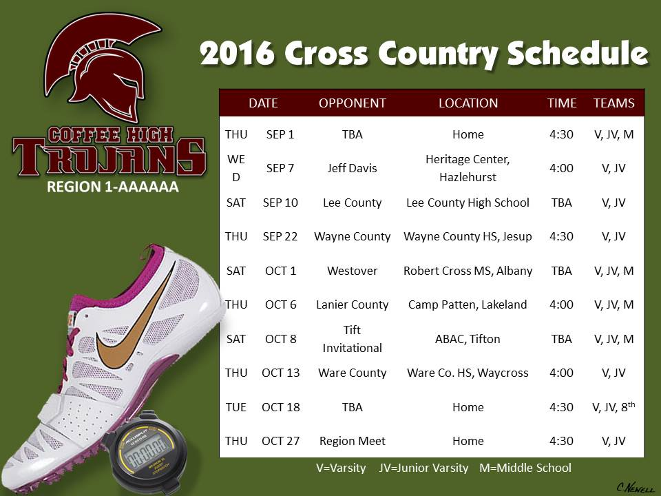 2016 Cross County