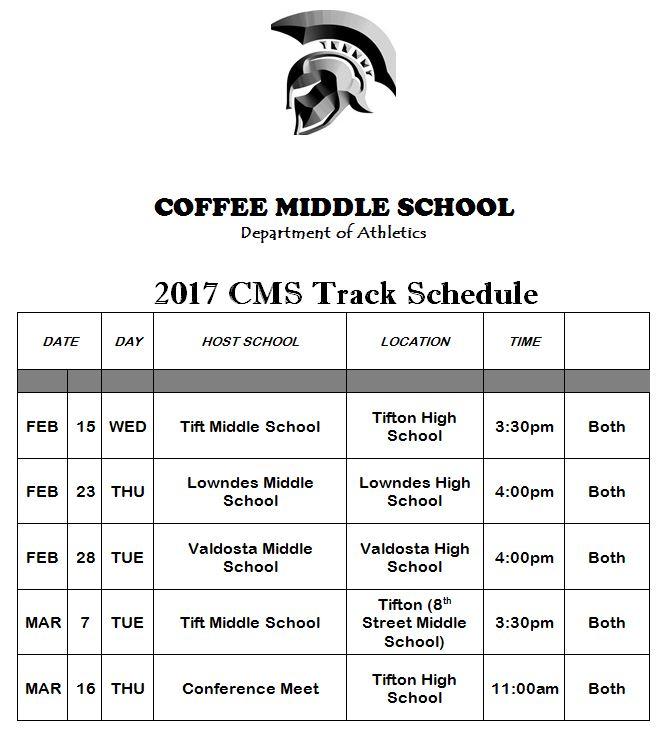 CMS Track & Field 2017