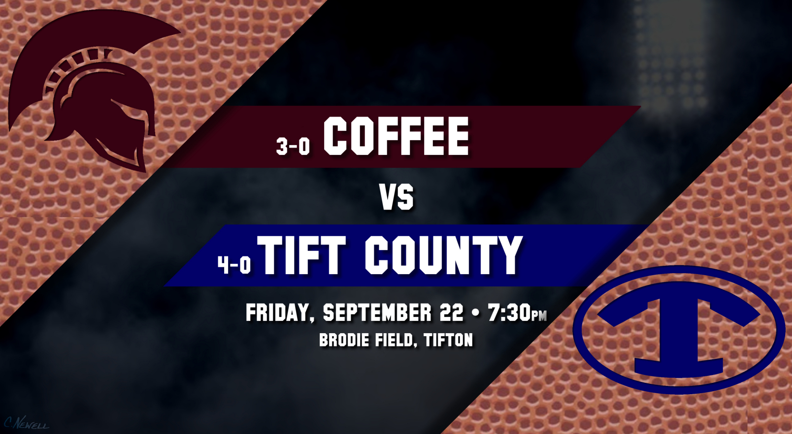 Coffee vs Tift, September 22, 2017