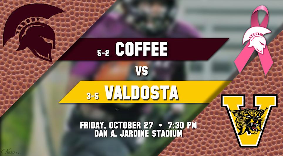 Coffee vs Valdosta, October 27