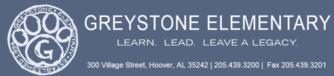 Greystone Elementary Newsletter Logo