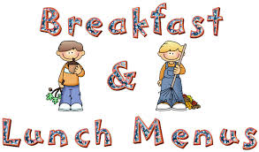 Breakfast Lunch Menus