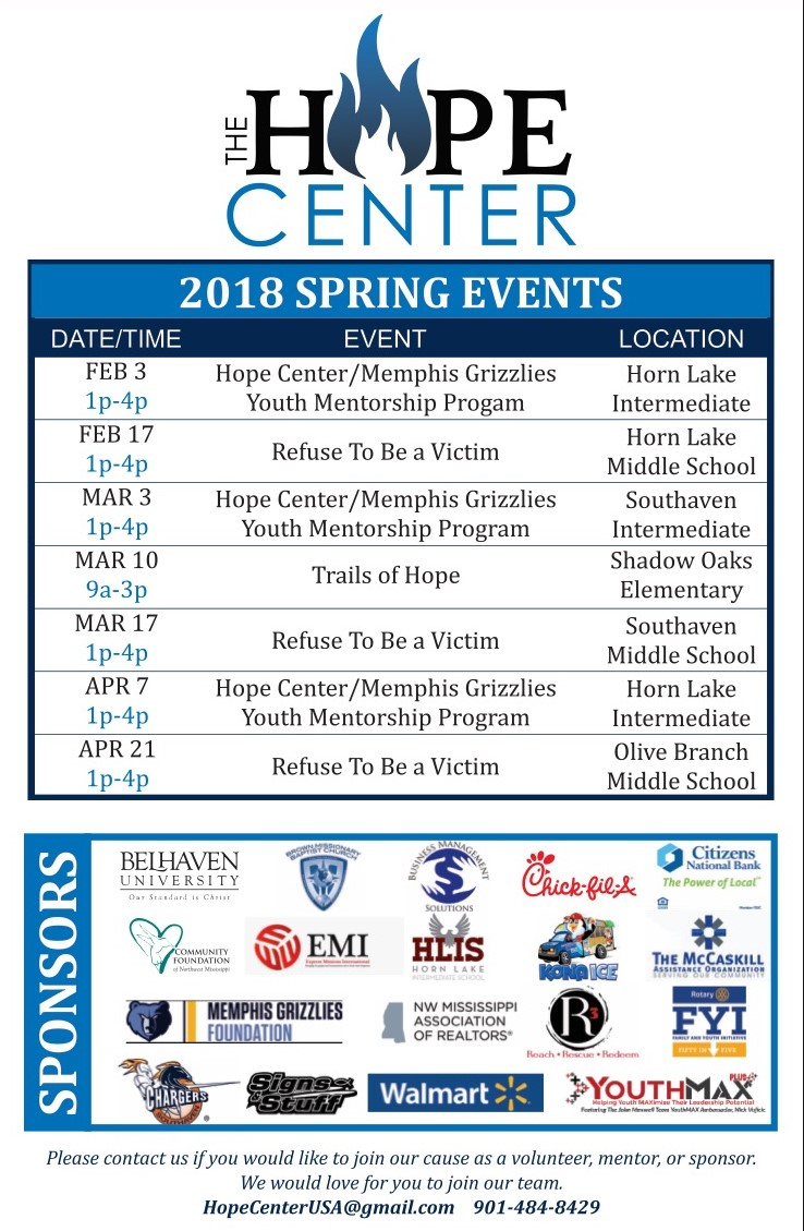 Spring Events and Sponsors