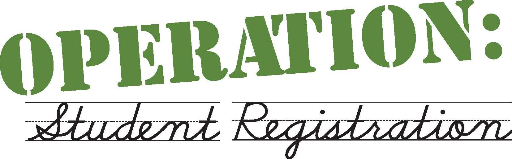 Operation Student Registration