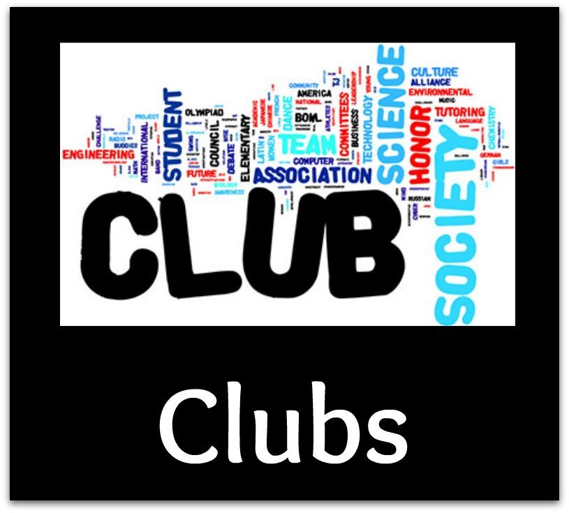 CHHS Club Dates