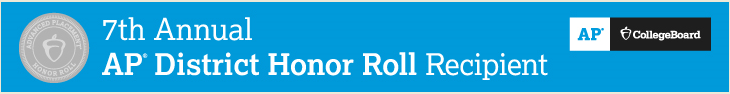 AP 7th Annual Honor Roll Recipient graphic and link
