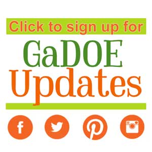 Click image to sign up for GaDOE Updates