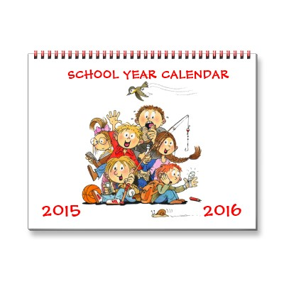 year at glance calendar 2015