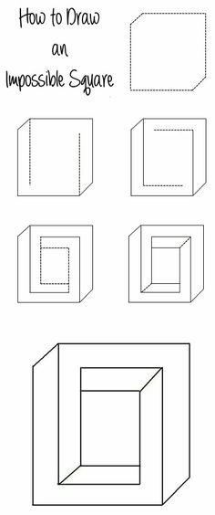 Draw an Impossible Square