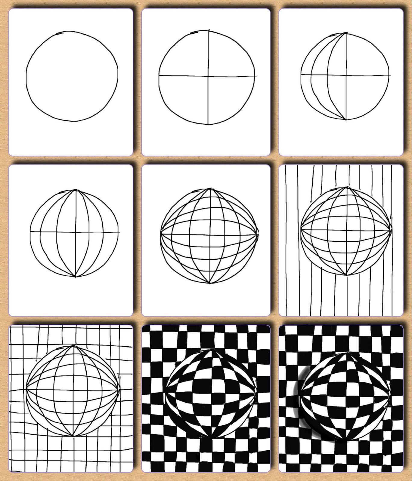 Draw an Optical Illuston