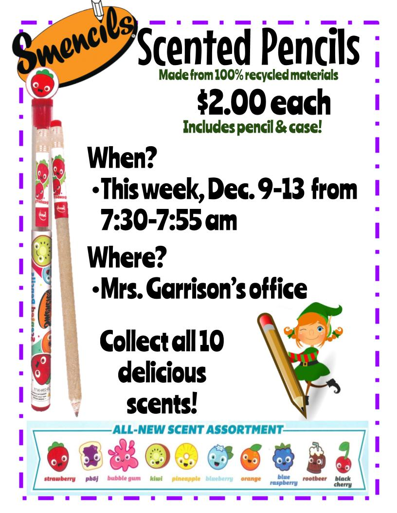 Smencil Scented Markers