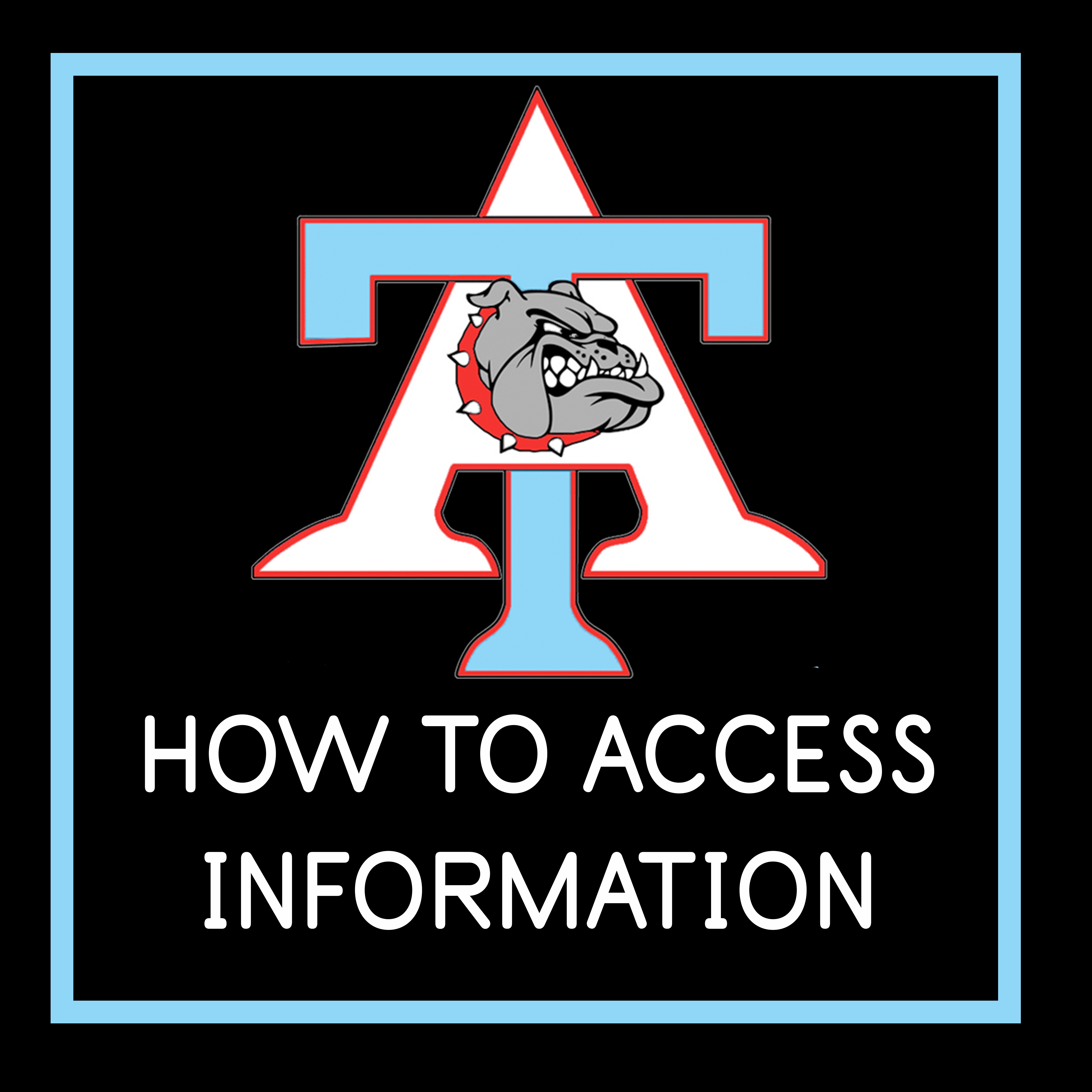 How to access information button