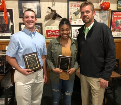 Randolph Sports Council named two ERHS students as Unsung Heroes