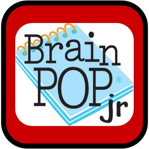 Brain Pop Jr Button