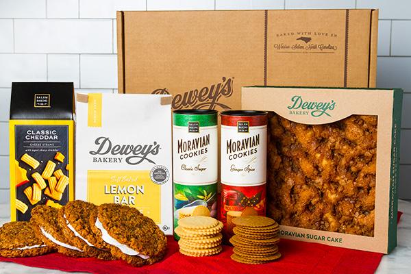 dewey's bakery items