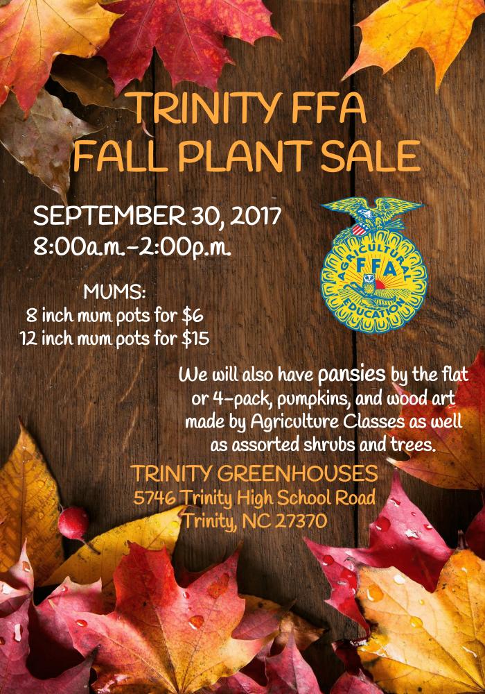 ffa plant sale flyer