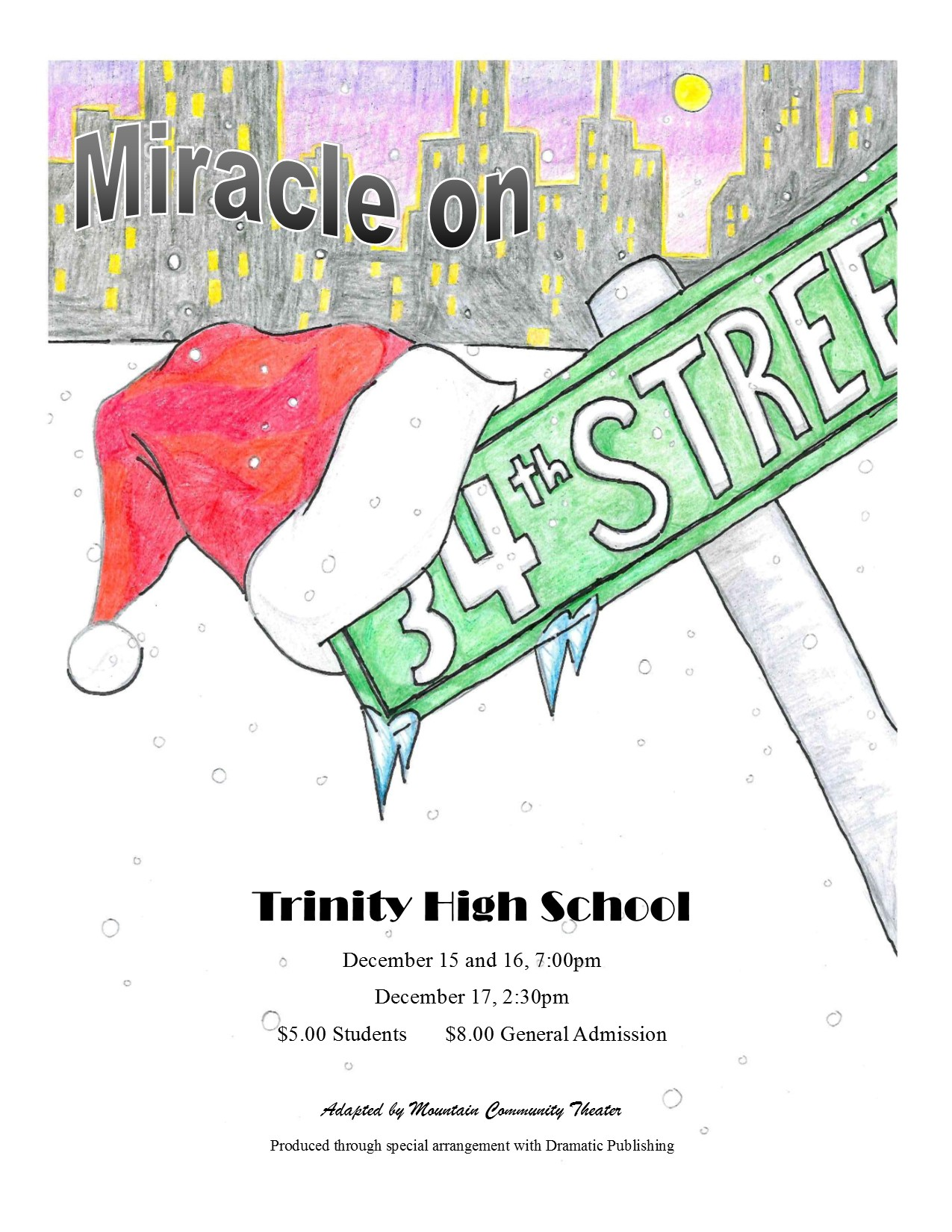 Miracle on 34th Street Flyer