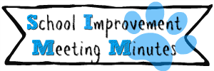 school improvement meeting minutes