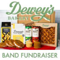 dewey's bakery band fundraiser