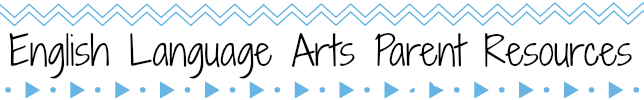 Rectangular banner with designs of light blue chevron and small triangles and dots, text reads