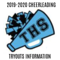 THS 2019-2020 cheerleading tryouts information