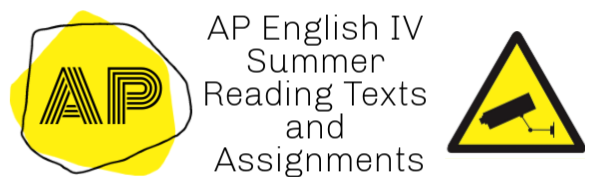 ap english iv summer reading assignments