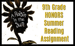 9th grade honors summer reading assignment