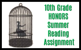 10th grade honors summer reading assignment