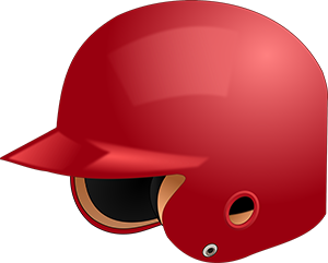 picture of a helmet softball