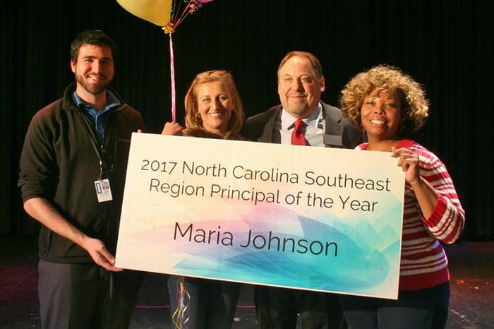 Southeast Region Principal of the Year: Mrs. Johnson