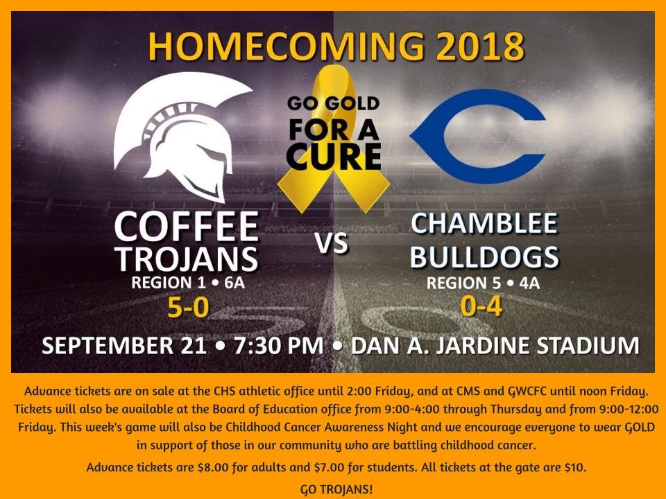 Coffee high school latest news homecoming and going gold friday coffee high school latest news homecoming and going gold friday september 21 fandeluxe Choice Image