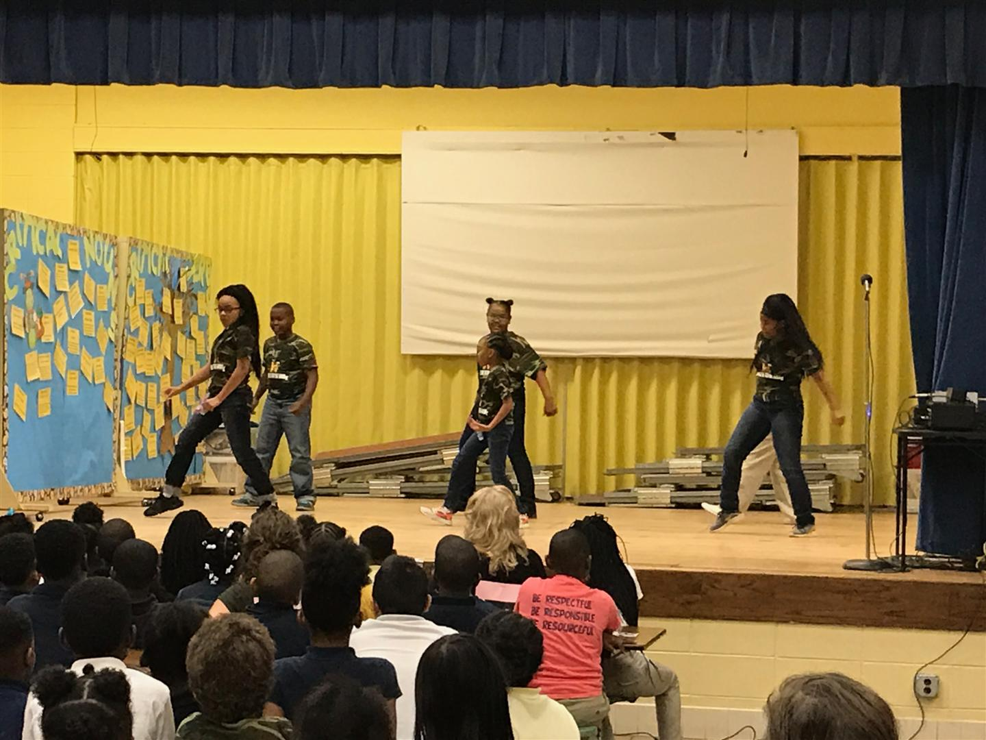 Vaughn Road Dancers Show Their Moves