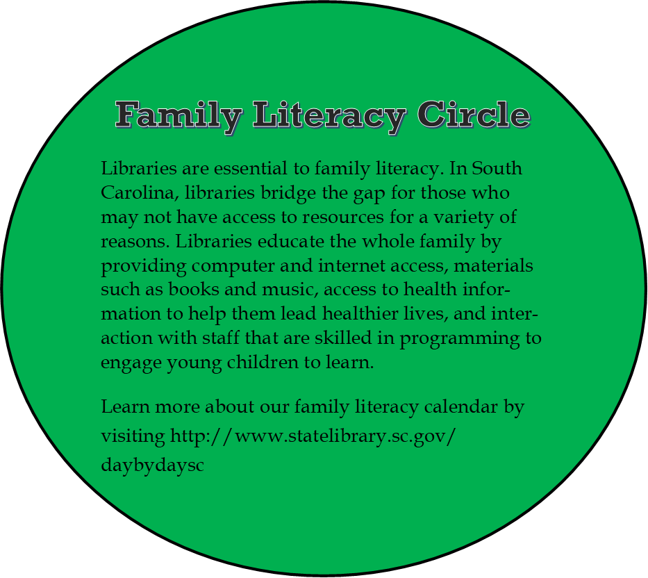family literacy ideas day by day for early learners