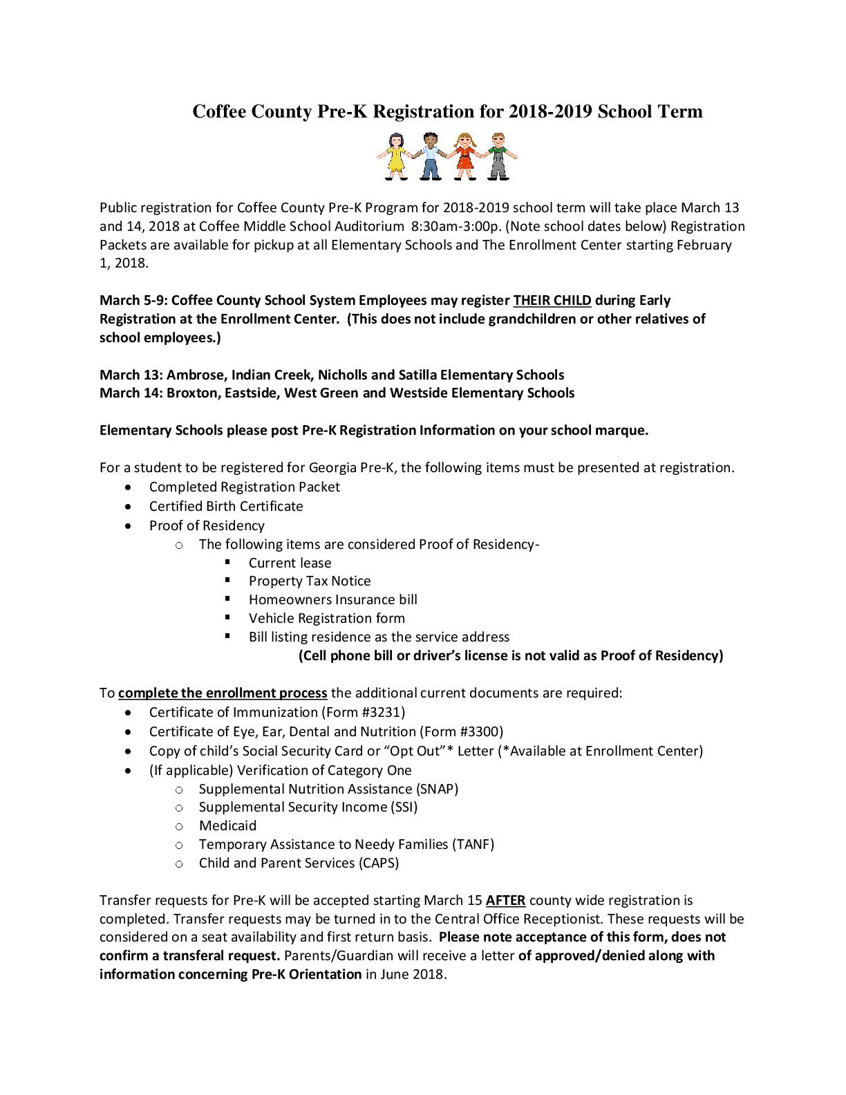Indian creek elementary school highlights prek registration 2018 thecheapjerseys Gallery