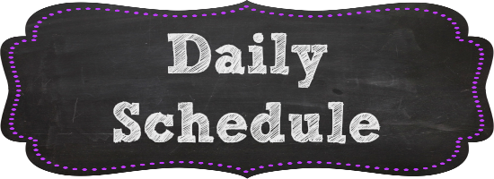 Image result for class schedule banner