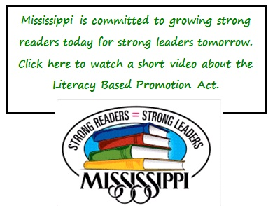 Strong Readers = Strong Leaders Mississippi Logo