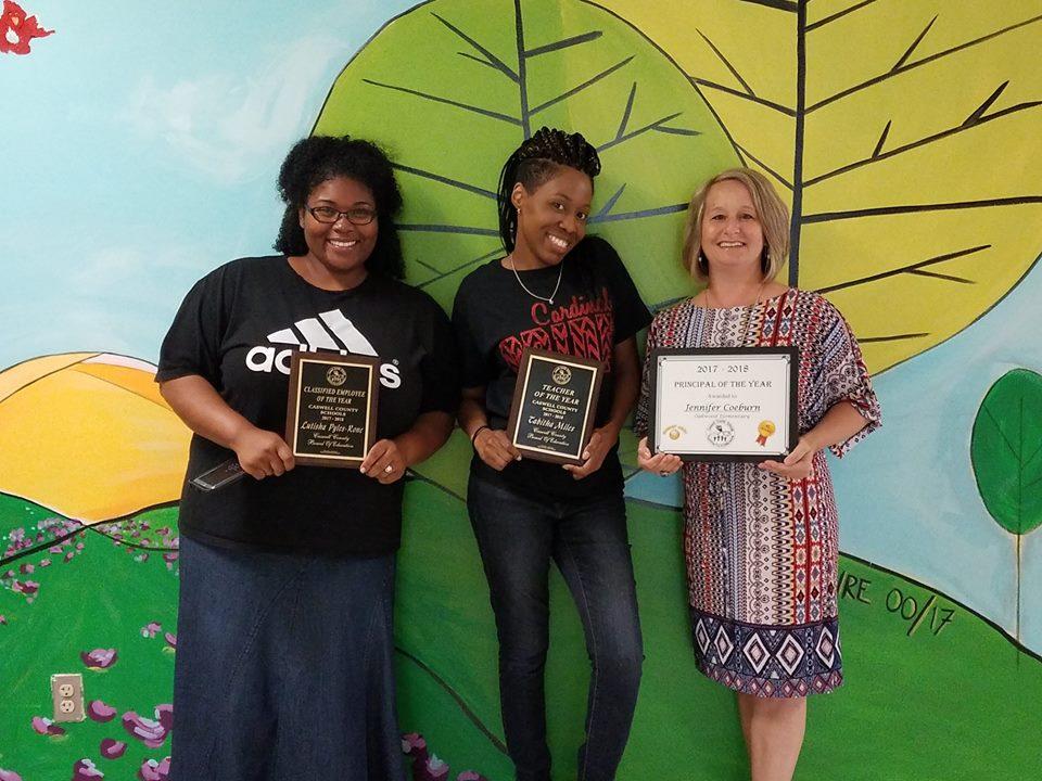 Caswell County Award Winners