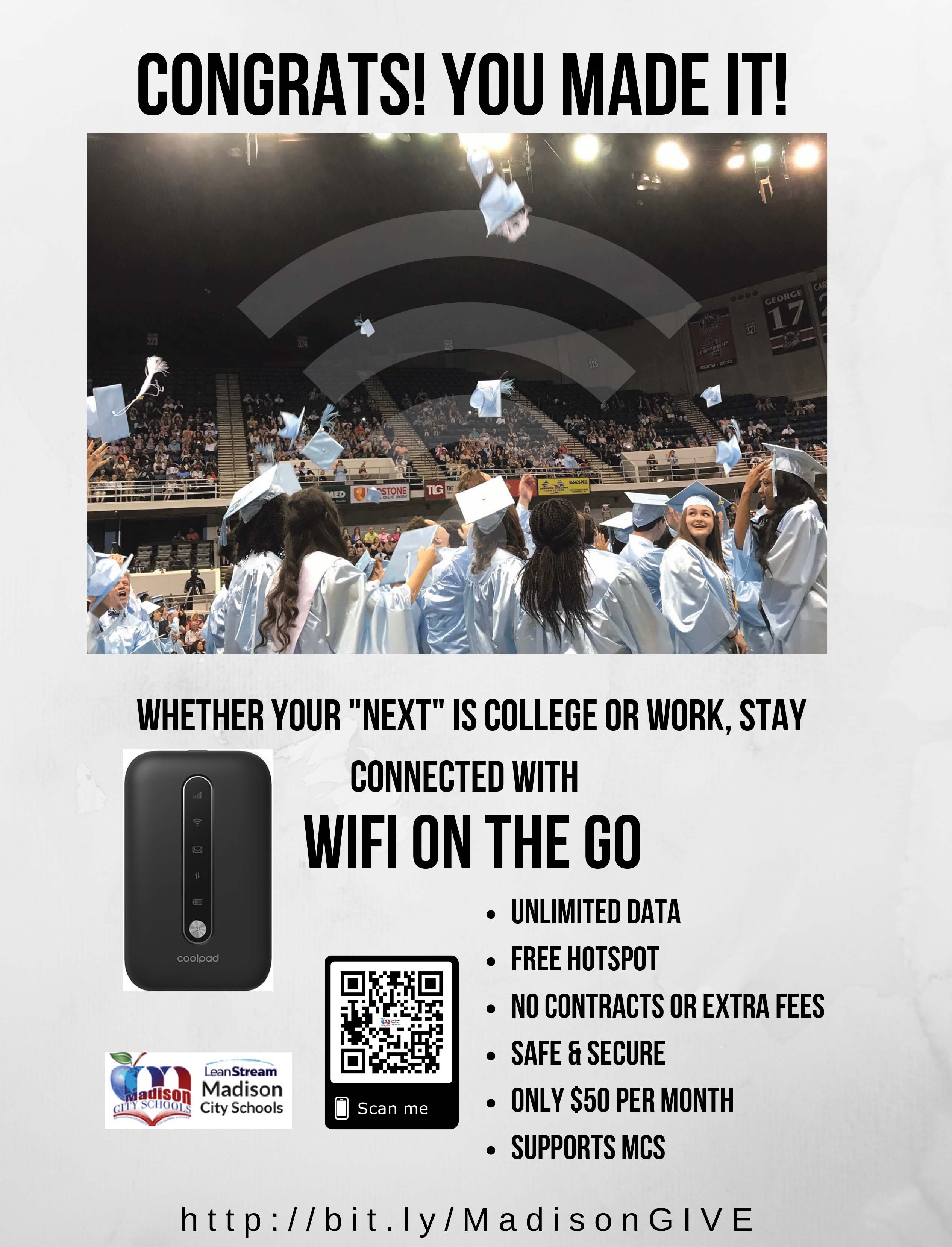 WiFi On the Go Information