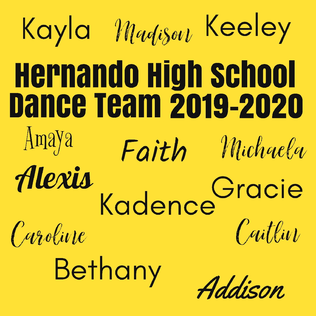 Dance Team Names at HHS