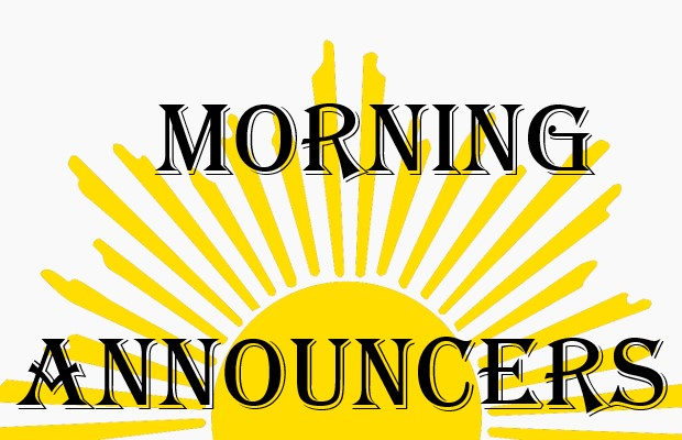 Morning Announcers Link