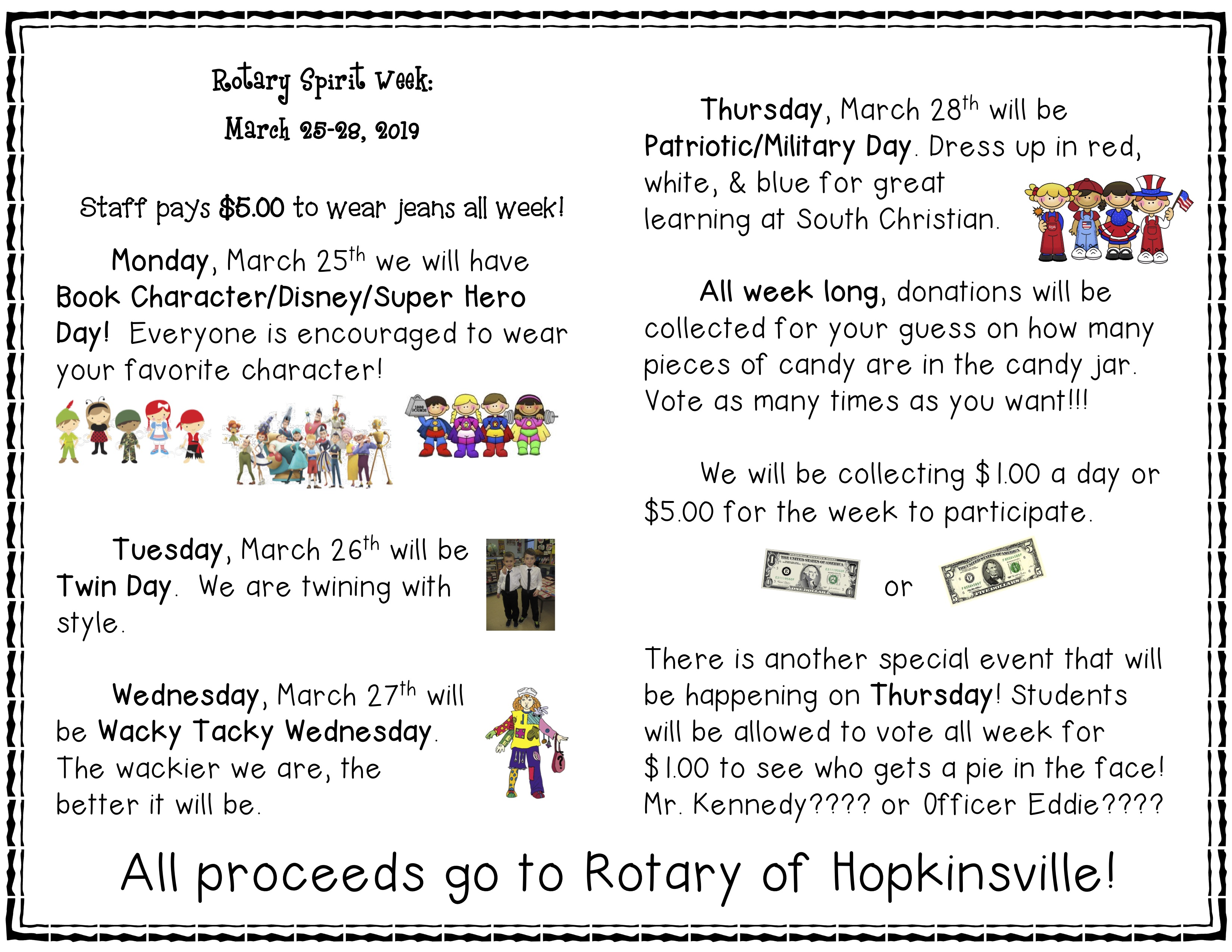 Join us for Rotary Week!